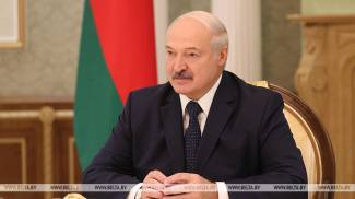 Lukashenko: A great honor for Belarus to host The Match Europe v USA